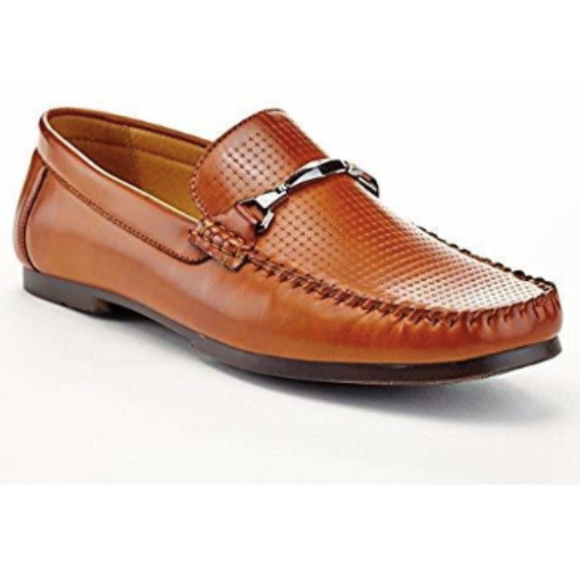 0ba6b4490fc Adolfo Men s Leo Texture Slip On Dress Shoes -11.5